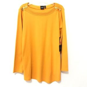 Womens Plus Size Top 2X New Knit Pullover Blouse A